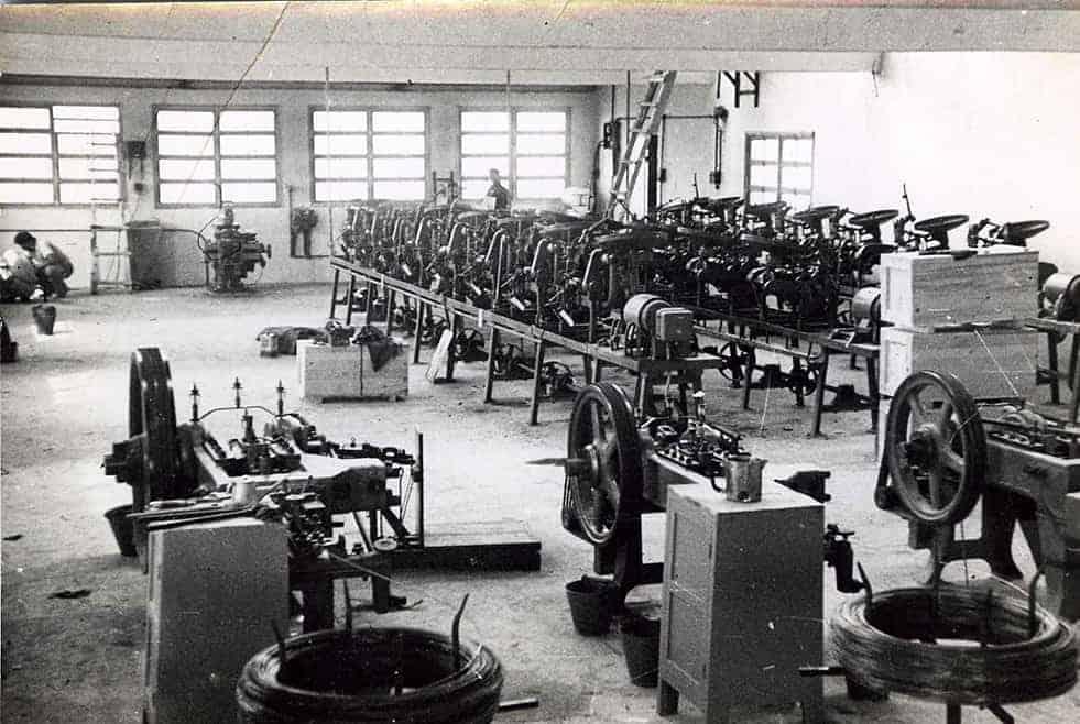 מברג שנות ה 50 מכונות חדשות מגרמניה