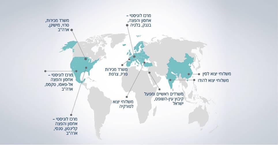 מפה עברית